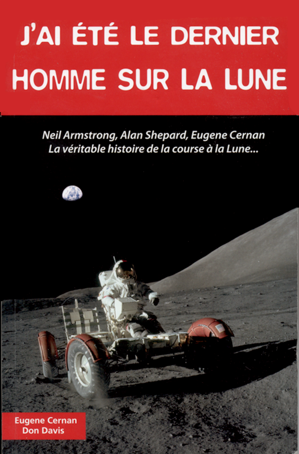 """Couverture du livre """"J'ai été le dernier homme sur la lune"""""""